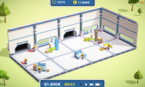 Future Factory, le serious game de Seven Shapes