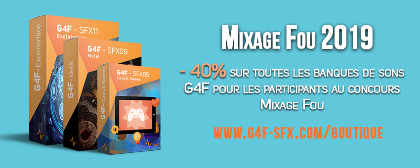 Discount G4F SFX - Mixage Fou 2019